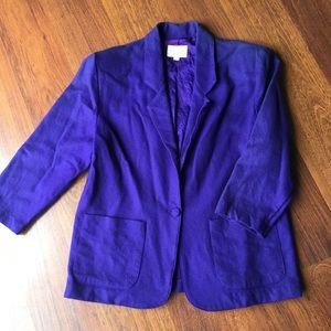 Vintage Ultra Violet Blazer